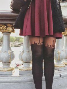 Parisian tights