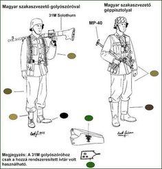 「A második világháború magyar katonai egyenruhákat」の画像検索結果