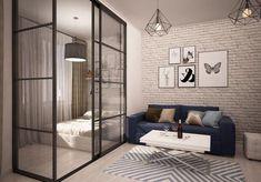 Apartment One Room Elegant Design