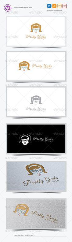 Pretty Geeks Logo Template