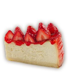 Carnegie Deli's heavenly, creamy cheesecake baked on a cookie-dough crust and garnished with our luscious strawberry house-made topping. Cheesecake Cake, Blueberry Cheesecake, Carnegie Deli, My Favorite Food, Favorite Recipes, Foods To Eat, Cookie Dough, Cupcake Cakes, Cupcakes