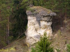 Ľupčiansky skalný hríb 1 - Palino Peťovský Mount Rushmore, Mountains, Nature, Plants, Bb, Travel, Rocks, Naturaleza, Viajes