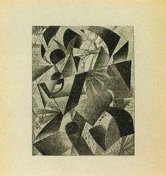 Pilot, 1913 - Kazimir Malevich