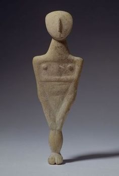 chloefrancillon:  Early Cycladic Figure (3200-2000 BCE) Greece : the Cyclades