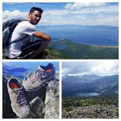 Picture yourself with @bigbtahoe and this amazing view.  #postcardsfrombearpaw  #bearpaw #cato #hike #hiking #hikers #hiker #laketahoe #shoe #hikingboots #view #landscape #love #bearpawlatam #bearpaweurope #bearpawmongolia