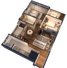 3d House Plans, Indian House Plans, Model House Plan, House Layout Plans, Dream House Plans, Small Room Design Bedroom, Home Room Design, Home Design Plans, House Floor Design