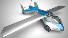 Aeromobil, A Sleek Flying Car That Fits Into Ordinary Parking Spaces