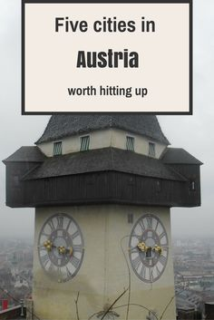 Danik's top five cities to check out in Austria