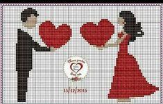 Name: Displayed times: 1163 Size: KB (Kilobyte) Cross Stitching, Cross Stitch Embroidery, Embroidery Patterns, Wedding Cross Stitch Patterns, Cross Stitch Designs, Pixel Art, Cross Stitch Silhouette, Cross Stitch Heart, Blackwork
