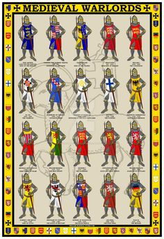 Medieval Warlords Poster by williammarshalstore on DeviantArt: