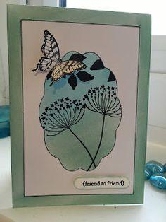 http://www.papercraftykaren.co.uk/ Karen's Crafty Creations: #summersilhouettes, #stampinup
