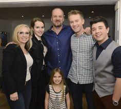 """""""Good Luck Charlie"""" cast reunion dinner!"""