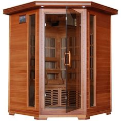 Shop for Radiant 3-Person Cedar Corner Carbon Infrared Sauna. Get free shipping at Overstock.com - Your Online Home Improvement Outlet Store! Get 5% in rewards with Club O!
