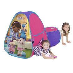 Disney Doc McStuffins Hide About Tent, Multicolor
