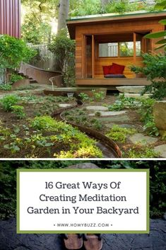 16 Great Ways Of Creating Meditation Garden in Your Backyard - HomyBuzz #homybuzz #gardeninbackyard #fall #halloween #gardening