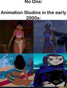 """What if we made them thicc?"" Animation Studios in the early - iFunny :) Funny Video Memes, Dankest Memes, Funny Jokes, Hilarious, Thicc Meme, Lilo E Nani, Funny Images, Funny Pictures, Friend Memes"