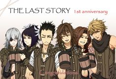 The Last Story Anniversary Congratulations, 1st Anniversary, The Last Story, Video Game Art, Cartoons, Games, Movie Posters, Movies, Fictional Characters