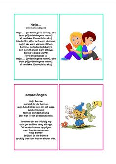 version-ffb044cb5bb39f5580caf9d420f71291 (1024×1448) Sign Language Book, Learn Swedish, Swedish Language, Educational Activities For Kids, Music Classroom, Kids Corner, Kids Songs, Pre School, Kids And Parenting