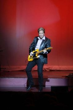 Ricky Nelson Remembered  Twin brothers Matthew and Gunnar Nelson honor their father's legendary rock career with performance - Lion's Roar; Southern LA University; Hammond, LA Article/Photo: Nicole Koster