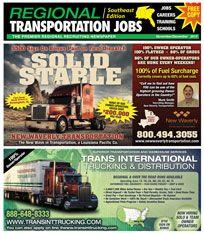 Regional Transportation Jobs SE