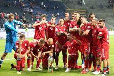 Lewandowski Fires Hat-trick As Bayern Destroy Frankfurt To Lift German Super Cup Fc Hollywood, Thomas Muller, Dfb Team, Lewandowski, Frankfurt, Football Players, Sports News, Dolores Park, Germany