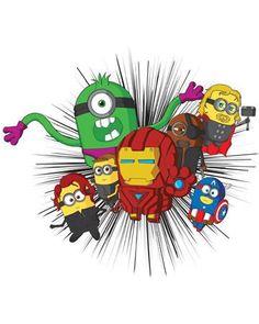 Minion Avengers - Kids' T-Shirt