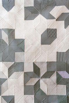 Stitching Sanity | herminehesse:   Pamela Wiley fiber art