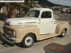 A Brief History Of Ford Trucks – Best Worst Car Insurance 1950 Ford Pickup, 1952 Ford Truck, Old Ford Trucks, Old Pickup Trucks, Farm Trucks, Hot Rod Trucks, Cool Trucks, Big Trucks, Ford 4x4