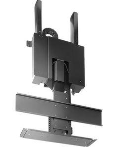 lcd led tv monitor ceiling roof folding flip down mount bracket 19 42 vesa. Black Bedroom Furniture Sets. Home Design Ideas