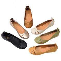 Spring color flat shoes