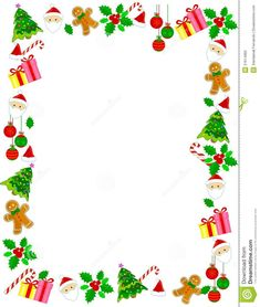 Illustration of berry - 21614982 Christmas Boarders, Christmas Frames, Christmas Photos, Christmas Holidays, Xmas, Free Christmas Borders, Mushroom Crafts, Christmas Stationery, Stained Glass Flowers