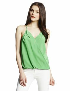 Womens Crossover Racerback Cami Top www.weartowork.us