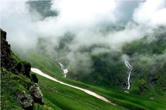 Kullu Valley before rain! #HimalayanVillage #Himachal