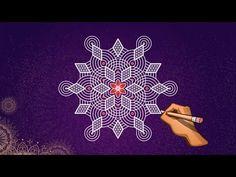 🔅 Padi kolam | Margazhi kolangal | Simple Rangoli - YouTube