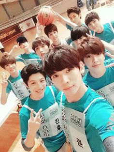 I wish I would verse them in a match of basketball T_T
