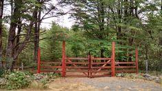 Entrada a cabañas...Cura cautin-Malalcahuello...Region araucania..Chile.