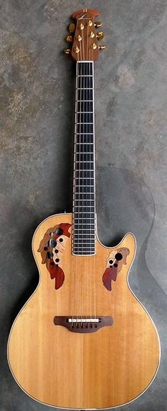 Ovation Guitars - Viper Ovation has originally used the Viper name for an electric guitar (made in USA mid - early The guitars are entirely different, sharing only name and manufacturer. Acoustic Guitar Cake, Music Guitar, Guitar Girl, Cool Guitar, Playing Guitar, Ukulele, Violin, Fender Guitars, Ovation Guitars