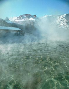 Glenwood Springs Colorado...... hot springs pool in the winter.....can't wait to soak there again