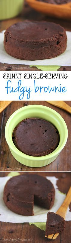 rich, fudgy brownie you can make with just 6 ingredients in under 10 minutes! It's the perfect skinny & clean-eating treat!A rich, fudgy brownie you can make with just 6 ingredients in under 10 minutes! It's the perfect skinny & clean-eating treat! Healthy Baking, Healthy Desserts, Just Desserts, Delicious Desserts, Dessert Recipes, Yummy Food, Healthy Breakfasts, Healthy Recipes, Mug Recipes