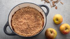 true taste hunters: vegan crumble #vegan #crumble #truetastehunters