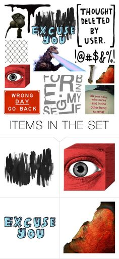 """""""Wrong Day, Go Back"""" by deepwinter ❤ liked on Polyvore featuring art"""