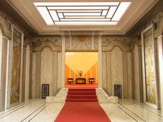 Art Deco glamour at the Sweetington Hotel