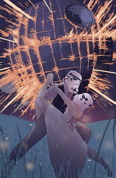 """Stormtroopers in Love"""