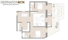 巴塞隆納現代簡約風公寓 - DECOmyplace