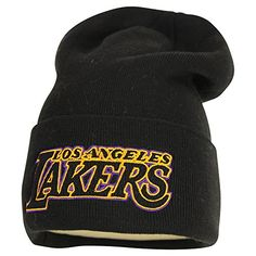 Los Angeles Lakers Knit Hat