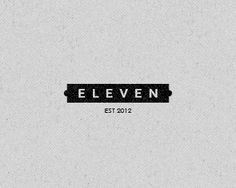 ELEVEN Logo Design | More logos http://blog.logoswish.com/category/logo-inspiration-gallery/ #logo #design #inspiration
