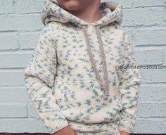 Худи спицами с капюшоном Baby Knitting Patterns, Baby Boy Knitting, Knitting For Kids, Baby Patterns, Toddler Outfits, Kids Outfits, Easy Amigurumi Pattern, Baby Staff, Knitting Books