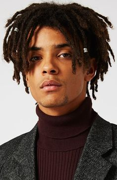 Men's Hairstyles Short Dreadlocks. Photo: Topman. #menshairstyles #menshair #afrohair #dreadlocks