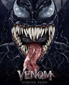 VENOM Tom Hardy posta 12 pôsters inéditas do filme 11 Venom fan art featured for new marvel film 2018 Tom Hardy, Venom Pictures, Marvel Room, Venom 2018, Venom Movie, Marvel Films, Alternative Movie Posters, Artwork Design, Graphic Design Typography