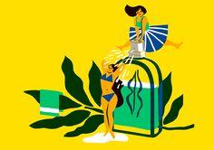 L'Occitane en Provence Calendar on Behance    Virginie Morgand